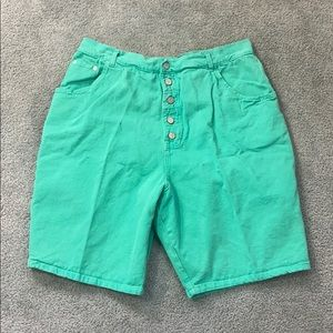 Vintage 90s Gitano Button Fly High Waisted Shorts